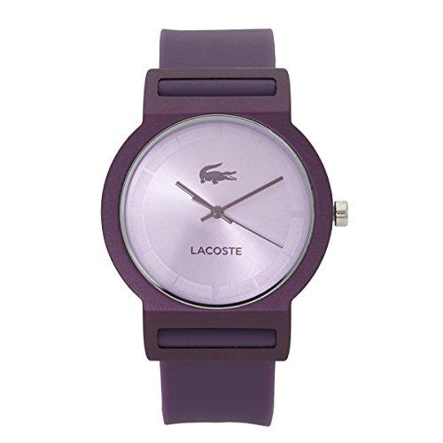 Lacoste Tokyo Three-Hand Purple Silicone Unisex watch #2020075