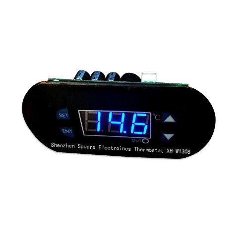 Digital Temperature Controller, DC 12V LED Heat Cool Thermostat Temperature Controller, home & outdoors Sensor and industrial equipment (B)