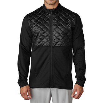 Adidas Golf 2016 Climaheat Prime Fill Insulated Quilted Mens Golf Thermal Jacket Black XL