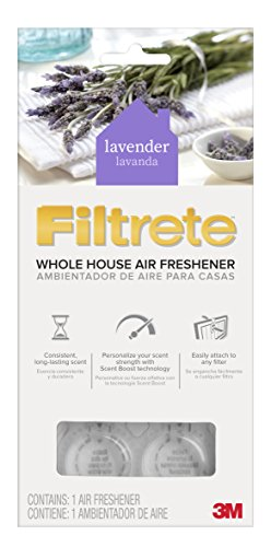 Filtrete WHAF-1-LA Lavendar Whole House Air Freshener for HVAC Filter, Lavender