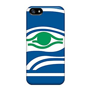 Scratch Protection Hard Phone Covers For Apple Iphone 5/5s (vAs1729VppL) Support Personal Customs Trendy Seattle Seahawks Pattern