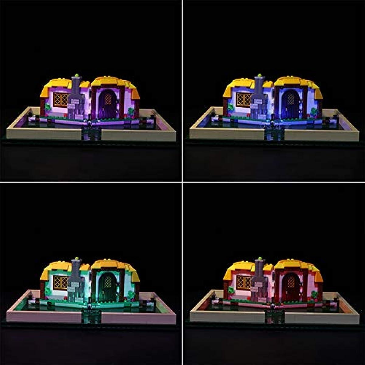 [해외] LEGO 레고 아이디어 21315 호환 뛰어나가는 걸어 그림책 LED 라이트 키트