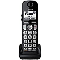 Panasonic KX-TGEA40B Dect 6.0 Digital Additional Cordless Handset for KX-TGE433B / KX-TGE445B (Certified Refurbished)