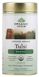 Organic India Tulsi Loose Leaf Tea Canister Original -- 3.5 oz by Organic India