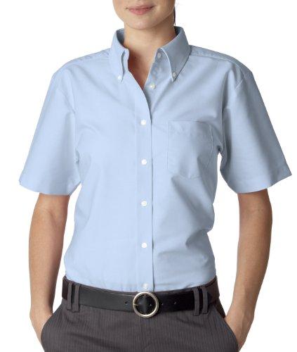 M Blue Ladies Shirt Dres 8973 Ss Uc Oxford Light gw0q8f7x