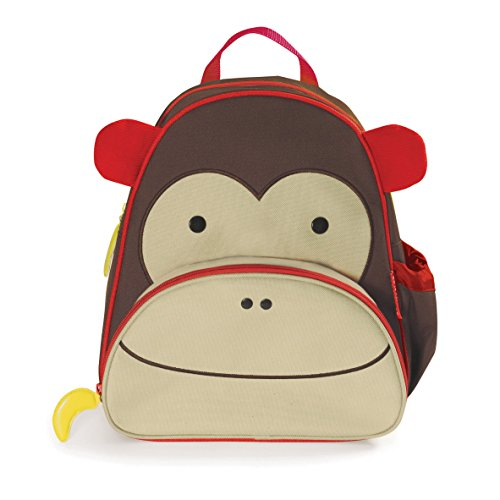 Skip Hop Zoo Little Kid and Toddler Backpack, Marshall Monkey