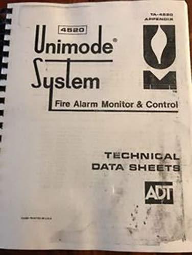 ADT UNIMODE System Manual TA-4520 - - Amazon.com