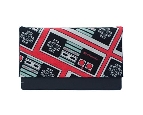 Dock Sock Sleeve Cover with Microfiber Backing for Nintendo Switch