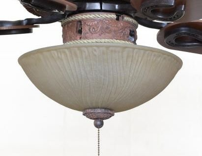 Copper Canyon LK310 Light Kit – Leather Finish Leather Ceiling Light