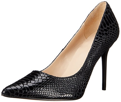 Pleaser Classique blk black Snake Leather Nero Donna Scarpe Print 20sp Col Tacco SFWaSrBH