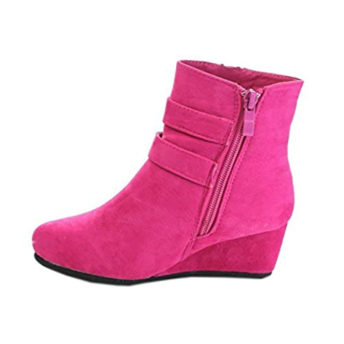 Wedge high heels for kids