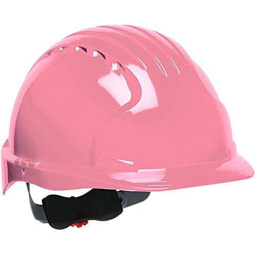 Safety Works Pro Hard Hat, Pink, 6-Point Wheel