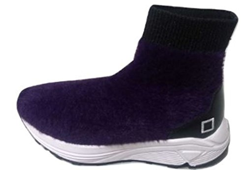 Date Sneakers a t Dafne Fur Purple D Donna e ZtHxq