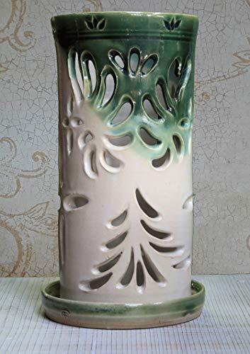 (Green Nautiloid Pillar Luminary)