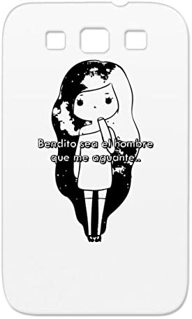 Anime Heart Love Girl Hair Girlfriend Cartoon Cute Funny Bendito Relationship Amor Black For Sumsang Galaxy S3 Case Amazon Ca Cell Phones Accessories