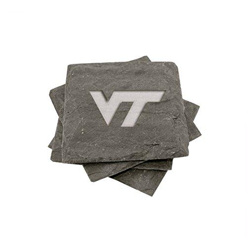 Virginia Tech Slate Coasters (set of 4)