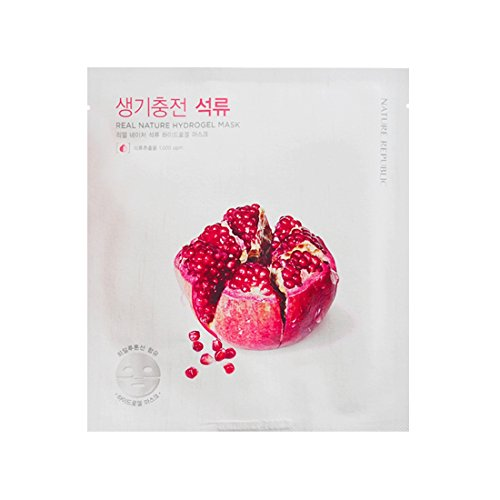 3-Pack-NATURE-REPUBLIC-Real-Nature-Hydrogel-Mask-Pomegranate