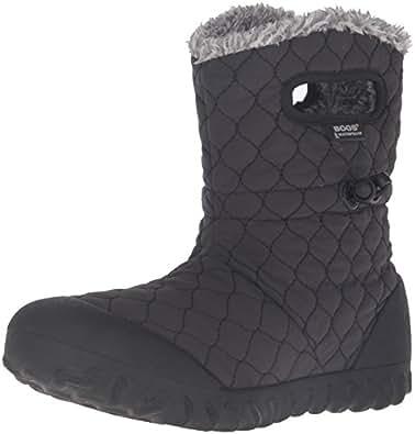 Amazon.com | Bogs Women's B-Moc Quilt Puff Snow Boot