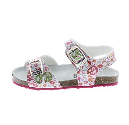 GRUNLAND - Sandalias de vestir para niño multicolor multicolor BIANCO-FANTASIA