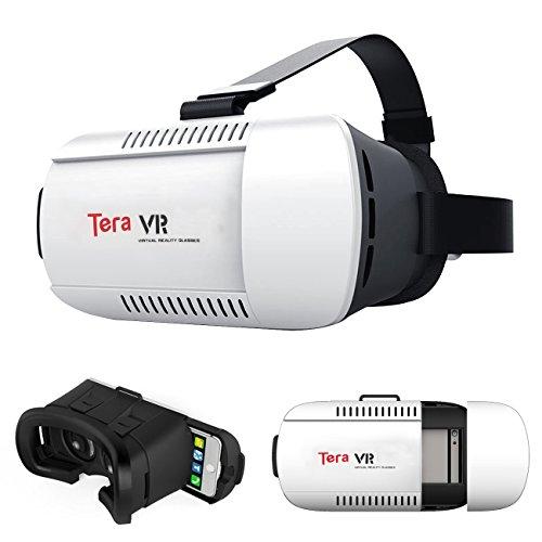 Tera VR Gafas 3D Realidad Virtual Gafas VR Box Variante Film Video Juegos para iPhone 6 Plus 6 Samsung Note 4 u otros todos Smartphones entre 4,7- 6,0 Pulgadas