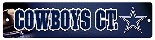 NFL Dallas Cowboys High-Res Plastic Street Sign (Sign Dallas Cowboys)