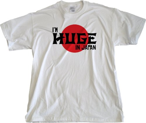 Ann Arbor T-shirt Co. Men's I'M HUGE IN JAPAN T-shirt