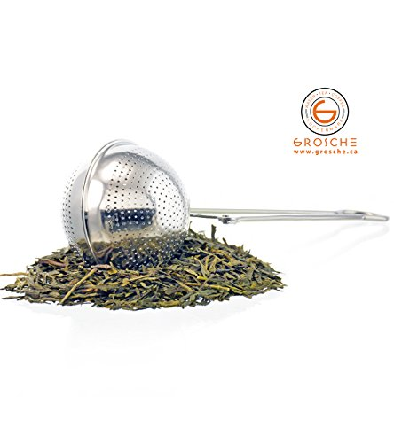 GROSCHE Torch Tea Infuser Pincer Spoon Made with 18-8 Stainless Steel by GROSCHE (Image #1)