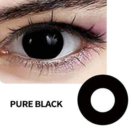 Diaper Multi-Color Cute Contact Lenses Color Blends Cosplay Eyes Cosmetic Makeup Eye Shadow (A Pair)