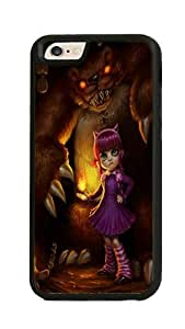 iPhone 6 Case - Annie League Of Legends Ultra Thin Rubber Bumper Hard Back Cover Case for iPhone 6 4.7inch