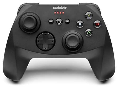 Snakebyte Snakebyte Game Pad Pro – Wireless 2.4Ghz Controller / Gamepad / Joystick for PC – PC;Mac;Linux;