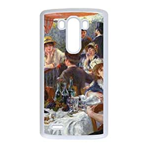 LG G3 Cell Phone Case White_The Luncheon of the Boating Party Gtwww