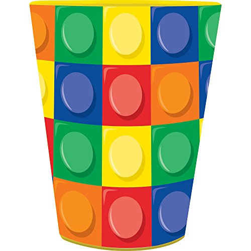 16oz Building Blocks Party Plastic Loot Treat Favor Keepsake cups (16)