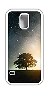 Customized Dual-Protective phone case for samsung galaxy s5 - One leaves