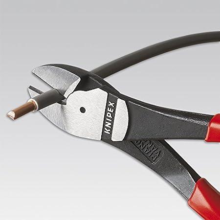 Poignées Knipex précise Diagonal Wire Cutter Nipper 180 mm Chrome Vanadium Acier