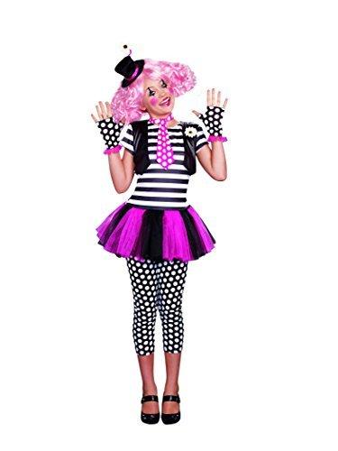 [SugarSugar Girls Clownin' Around Costume, One Color, Small, One Color, Small by Sugar] (Clownin Around Girls Costumes)