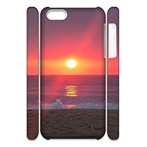 linJUN FENGSunrise 3D-Printed ZLB547120 Customized 3D Phone Case for iphone 4/4s