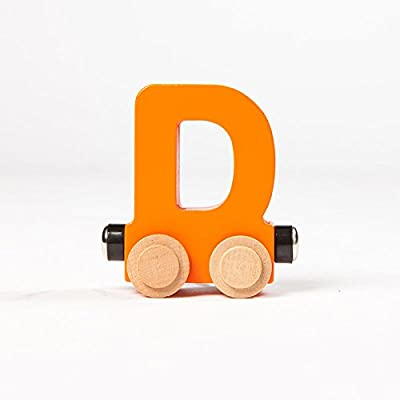 Fat Brain Toys Spell-Your-Name Alphabet Railroad - Letter D Classic & Retro Toys for Ages 3 to 4: Toys & Games