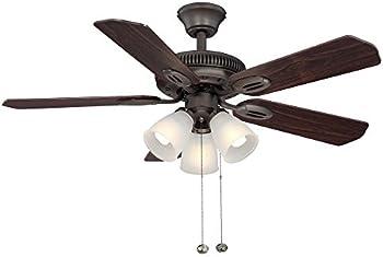 Hampton Bay Glendale 42 Inch Indoor Ceiling Fan