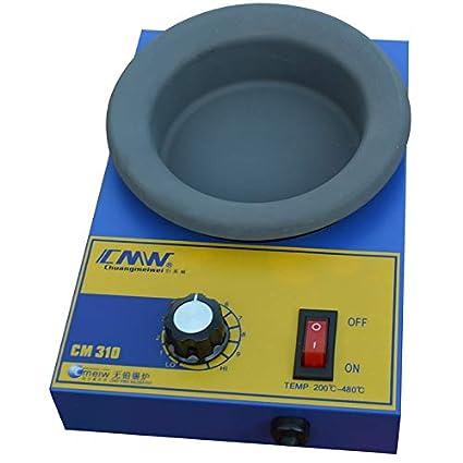 Amazon com: Solder Pot Soldering Desoldering Bath Titanium Plate