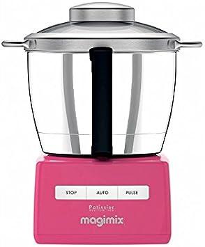 Magimix Robot de cocina PÂTISSIER 6200 XL Frambuesa: Amazon.es: Hogar