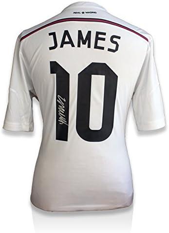 Iconos Tienda Unisex icjrrms2 James Rodríguez Firmado Camiseta del ...