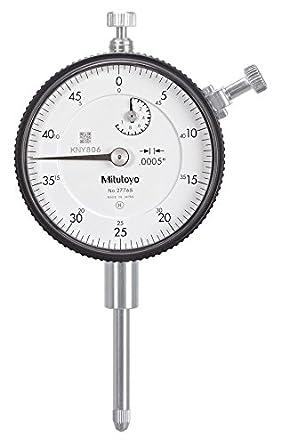 Mitutoyo 2776S Dial Indicator, #4-48 UNF Thread, 3/8