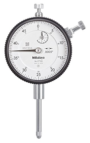 Mitutoyo Dial Indicator - Mitutoyo 2776S Dial Indicator, #4-48 UNF Thread, 3/8