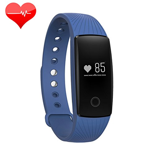 Fitness Tracker, RIVERSONG¨ Wave HR Heart Rate Monitor Activity Tracker Smartband Pedometer Sleep Monitor Calories