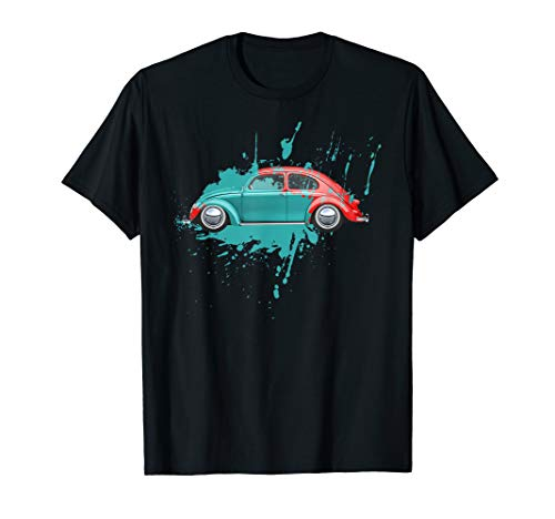 Classic Vintage Car Paint Old Bug Buggy Beetle Spot T-Shirt