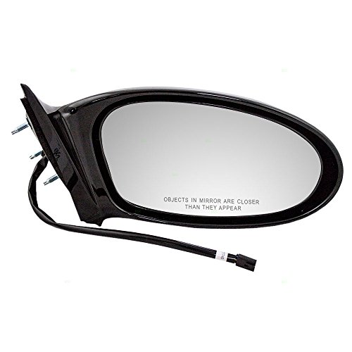 Pontiac Grand Am Mirror Glass - Passengers Power Side View Mirror with Single Post Replacement for Pontiac Grand Am 22724871 AutoAndArt