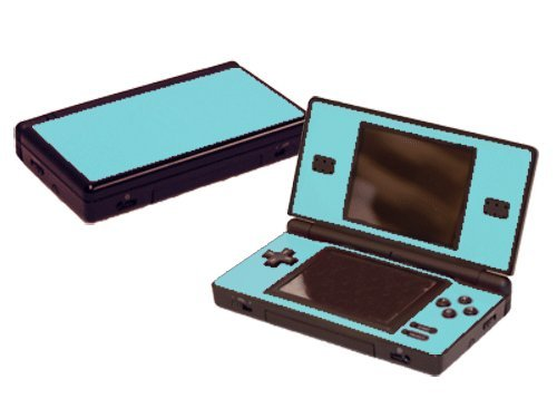 Nintendo DS Lite Skin (DSL) - NEW - ICE BLUE system skins faceplate decal (Nintendo Ds Skin)