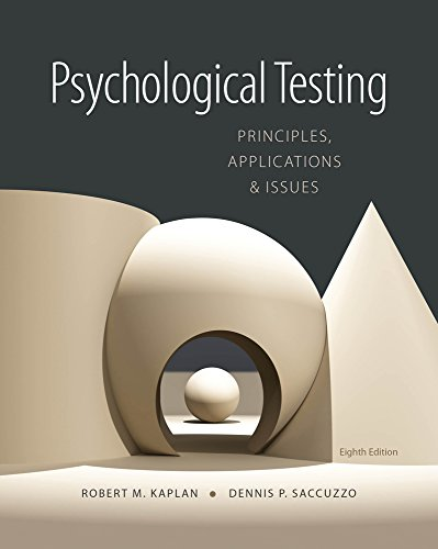 Download Psychological Testing: Principles, Applications, and Issues Pdf