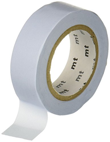 MT Washi Masking Tape, 1P Basic, 15mm x 10m, Pastel Blue (MT01P306)