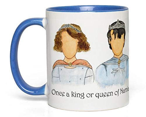 Narnia Kings & Queens Mug (Chronicles of Narnia, C. S. Lewis) Fan Gift ()